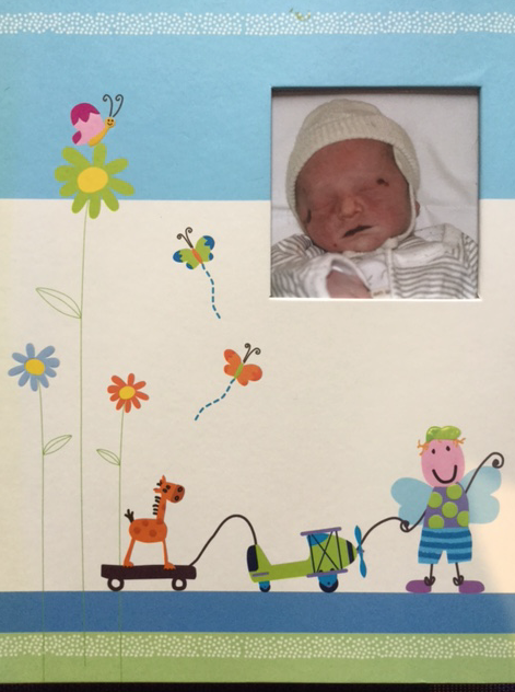 Samuel's Baby Book - Cover - Honouring the Memory of your deceased Baby